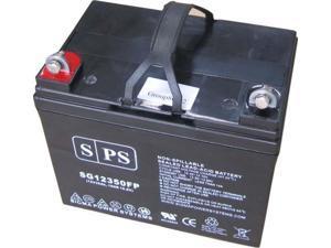 SPS BRAND   12v 35Ah  ( Z1 Terminal) Golden Technologies Atlantic GP 201 F U1 Wheelchair U1 replacement battery