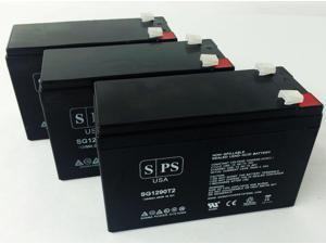 12v 9Ah Replacement Battery for Compaq Compaq UPS  (3 PACK) SPS BRAND