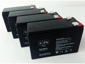 12v 9Ah Replacement Battery for Best Power Axxium Pro UPS  (4 PACK) SPS BRAND