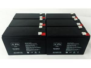 12v 9Ah Replacement Battery for Compaq Compaq UPS  (6 PACK) SPS BRAND