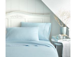 Merit Linens Luxury Double Brushed 4 Piece Bed Sheet Set - Calking Aqua