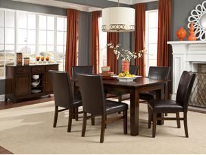 Janes Gallerie Kona 7- Piece Mango Wood Dining Set