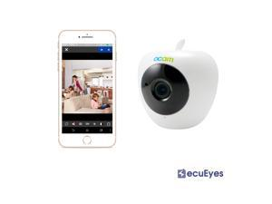 Secueyes Wifi HD Baby Monitor Security Video Camera & Nanny Cam iOS/Android Compatible