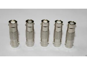 5pcs Female to Female BNC Barrel Connector RJ59 CCTV Coax Adapter Cable