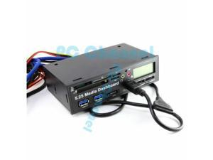 USB 3.0 All in One 5.25 inch Internal Front Panel Card Reader for PC Desktop-Best Market