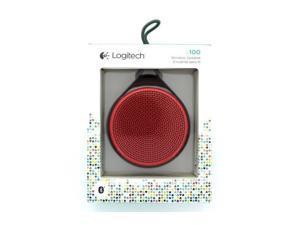 Logitech X100 Wireless Bluetooth Speaker Red and Purple - Best Market