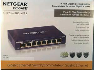 NetGear ProSafe GS108 8-Ports Gigabit External Ethernet Switch