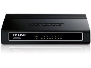 TP-LINK TL-SG1008D 10/100/1000Mbps 8-Port Gigabit Desktop Switch, 10Gbps Switchi