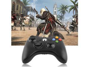 USB Wired Joypad Gamepad Controller For Microsoft Xbox & Slim 360 PC Windows EA
