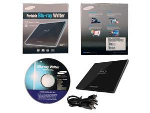 Samsung 6X External Slim Portable Blu-ray DVD CD Burner Drive Writer + Software