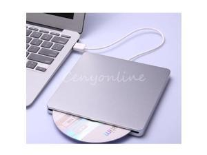 External USB CD±RW Drive Writer Burner DVD Player for Macbook Air/Pro PC Win7/8
