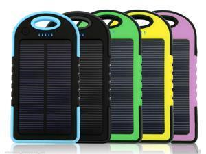16000mAh Portable Waterproof Solar Charger Dual USB External Battery Power Bank