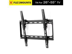 LCD LED Plasma Flat Tilt TV Wall Mount Bracket 27 32 37 40 42 46 47 50 55 inch