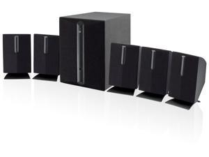 5.1 Channel Home Theater Surround Sound Speaker System Subwoofer Audio TV DVD 6
