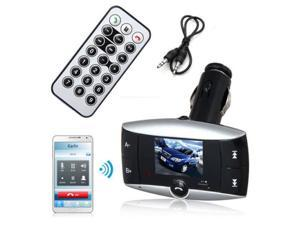 Car Kit MP3 Player Bluetooth Wireless FM Transmitter Modulator LCD SD USB Remote