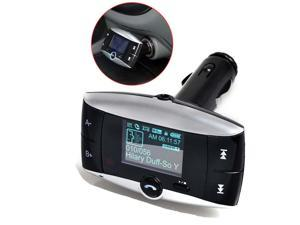 "Car Kit MP3 Player FM Transmitter Bluetooth Modulator 1.5"" LCD SD MMC USB Remot"
