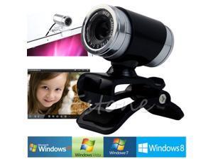 USB 50MP HD Webcam Web Cam Camera With MIC & Clip For Laptop Desktop Computer PC