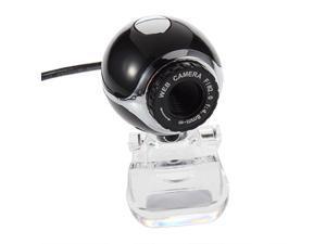 USB 50.0M HD Camera Web Cam With Mic for Desktop PC Laptop Computer Black US LE