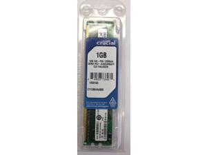 Crucial 1GB DDR2 PC2-6400 240 pin NON-ECC 800Mhz DIMM Desktop Memory RAM NEW