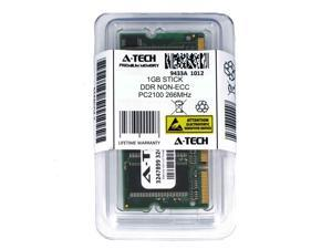 Atech 1GB SODIMM DDR Laptop PC2100 2100 266 266mhz 200pin Notebook Memory Ram