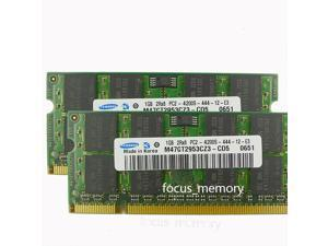 New Samsung 2GB 2X1GB PC2-4200 DDR2-533 MHz 200pin Sodimm 533mhz Laptop Memory