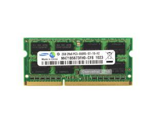 Samsung 2GB PC3-8500 DDR3-1066 1066Mhz 204pin SODIMM Laptop Memory Upgrade