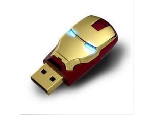 16GB G Iron Man USB 2.0 Flash Memory Stick Pen Drive Storage Thumb Disk Key USB