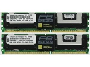 8GB (2X4GB) DDR2 MEMORY RAM PC2-5300 ECC Fully Buffered FBDIMM DIMM
