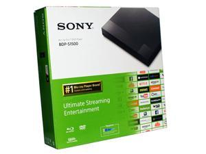 Sony BDP-S1500 Full HD 1080p Blu-Ray / DVD Player w/ Remote Internet Capable