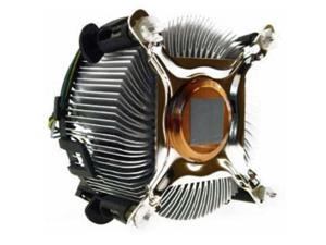 Intel CPU Heatsink Copper Core 3.5in Computer Cooler Cooling Fan for Socket 775
