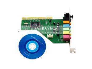PCI 8-Channel 8CH 7.1 Sound Card Optica CMI87368-8CH for XP Vista Windows 7