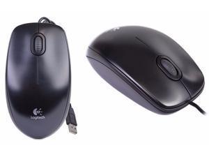 Logitech B100 Optical USB Mouse 910-001439