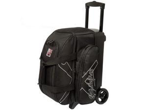 KR Hybrid X Black 2 Ball Roller Bowling Bag