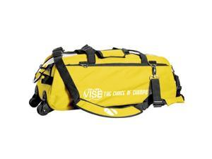 Vise Yellow 3 Ball Tote Bowling Bag