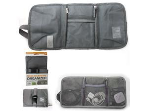 Travelon Tech Accessory Organizer Charger Cord Electronics Gadget Bag Cable Wire