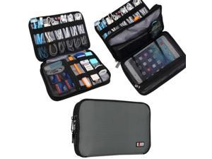 BUBM Double Layer Travel Gear Organizer / Electronics Accessories Bag (Medium...