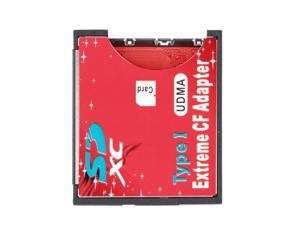 WiFi SD SDHC SDXC To CF Type I Compact Flash Memory Card Adapter Reader