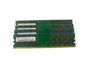 Samsung 16GB 4X 4GB PC2-6400 DDR2-800MHZ 240pin AMD Desktop Memory Ram