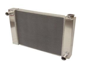"""New Fabricated Aluminum Radiator 29"""" x 19"""" x3'' Overall For SBC BBC Chevy GM"""