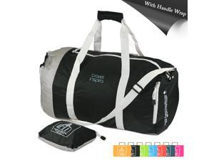 60L Foldable Travel Luggage Duffle Bag Lightweight for Sports, Gym, Vacation