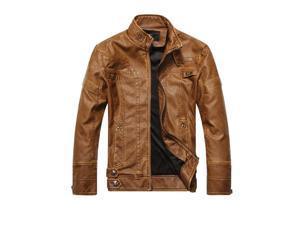 2015 new arrive brand motorcycle leather jackets men ,men's leather jacket, jaqueta de couro masculina,mens leather jackets