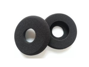 Tinksky A Pair of Replacement Soft Foam Hollow Earpads Ear Pads Ear Cushions for GRADO SR60 /SR80 /SR125 /SR225 and Alessandro M1 /M2 (Black)