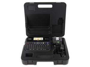 Pt-D600vp Pc-Connectable Label Maker With Color Display And Carry Case, Black By: Brother P-Touch