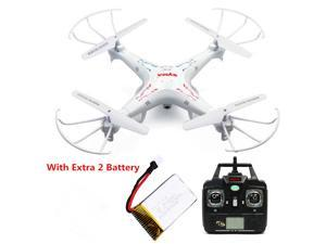 Syma X5C-1 6-Axis 2.4G Gyro RC Drone Quadcopter RTFW/2MP HD Camera With Extra 2 Piece720Mah Batteries