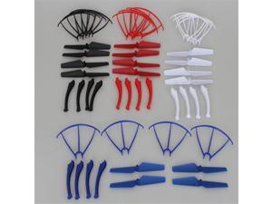 Blades+Protection Frame+Landing Gear 4 Colors Accessories Pack For Syma X5SC X5SC-1 X5SW