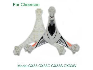 CX-33-01 Body Shell Upper&Lower Cover Body Shell Cover For Cheerson CX33 CX33C CX33S CX33W RC Tricopter