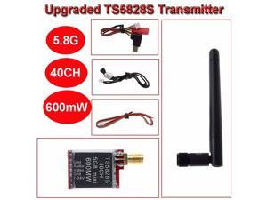 Upgraded TS5828S 5.8G 600mW 40CH Wireless Telemetry Audio Video AV Transmitter Wireless Transmitter