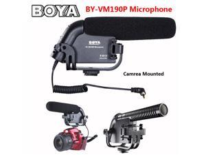 BOYA BY-VM190P Camera Mounted Stereo Shotgun Microphone For Canon Nikon DSLRs DV