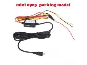 Blueskysea 12v to 5v hard wire adapter cable Micro USB Jack 1M Input And 3M Output Cable  USB Plug for Mini USB/Micro USB Plug Car Dash Camera 0903 DVR Parking model Parking Power switch