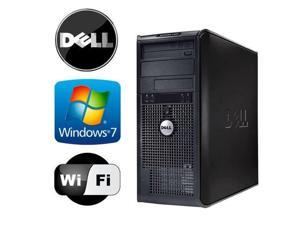 Dell Optiplex 755 TWR - Intel Core 2 Duo 2.13GHz - 8GB RAM - *NEW* 1TB HDD - Windows 7 Pro 64-Bit - WiFi - DVD/CD-RW